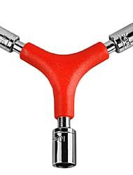 Недорогие -Велосипедный гаечный ключ Ремкомплект Устойчивый к деформации Многофункциональный Назначение Шоссейный велосипед Горный велосипед Велоспорт Углеродистая сталь Красный