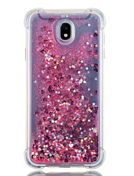 cheap -Case For Samsung Galaxy J7 (2017) / J7 (2016) / J7 Shockproof / Flowing Liquid Back Cover Glitter Shine Soft TPU