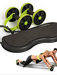 cheap -Ab Wheel / Resistance Bands With Physical Therapy, Power Resistance, Stretching ABS+PC For Fitness / Gym Workout / Boxing Training Home / Office