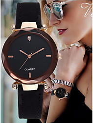 cheap -Women's Bracelet Watch Leather Black / Red / Green Imitation Diamond Analog Bangle Elegant - Red Green Pink One Year Battery Life / SSUO LR626