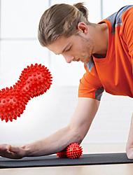 Недорогие -Массажный мяч 15 см Диаметр ПВХ Облегчение болей Глубокий массаж мышц Триггерная точка Йога Пилатес Аэробика и фитнес Для Муж. Жен.