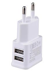 cheap -Portable Charger USB Charger US Plug / EU Plug 2 USB Ports 2 A DC 5V for