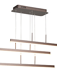 cheap -OYLYW 3-Light Linear Pendant Light Ambient Light Metal Acrylic Mini Style 85-265V Warm White / White LED Light Source Included / LED Integrated