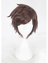 cheap -Cosplay Cosplay Cosplay Wigs All 12 inch Heat Resistant Fiber Brown Anime