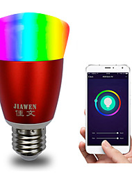 cheap -E27 RGBW Smart Wifi Bulb 16Million Colours APP Control Dimmable LED Light Bulb Works with Alexa Google Home AC85-265V