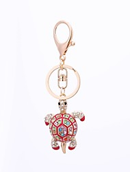 cheap -Keychain Turtle Ordinary Casual Ring Jewelry Black / Red / Blue For Gift Daily