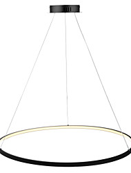 cheap -Ecolight™ Circle Pendant Light Ambient Light Painted Finishes Metal Acrylic LED 110-120V / 220-240V White / Dimmable With Remote Control / Wi-Fi Smart