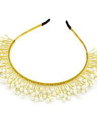 cheap -Imitation Pearl Tiaras with Imitation Pearl 1pc Wedding / Party / Evening Headpiece