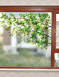 Недорогие -Оконная пленка и наклейки Украшение Современный С принтом ПВХ Стикер на окна / Матовая