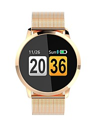 cheap -Q8 Women Smartwatch Android iOS Bluetooth Heart Rate Monitor APP Control Calories Burned Exercise Record Call Reminder Pedometer Call Reminder Sleep Tracker Sedentary Reminder Find My Device