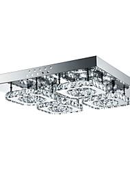 cheap -4-Light 42 cm Crystal / LED Flush Mount Lights Metal Others Modern Contemporary 85-265V