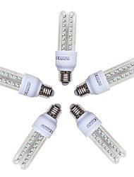 Недорогие -5 шт. 9 W LED лампы типа Корн 720 lm E26 / E27 T 48 Светодиодные бусины SMD 2835 Холодный белый 220-240 V