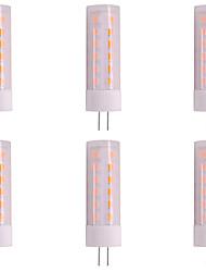cheap -3W G4 LED Bi-pin Lights 36 LEDs 2835 200-230lm Flame Flickering Change Spotlight DC 12V (6 Pcs)