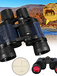 cheap -60 X 60 mm Binoculars Lenses Night Vision Multi-coated BAK4 Camping / Hiking Hunting Trail Aluminium Alloy 7005