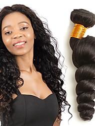 cheap -4 Bundles Indian Hair Wavy Human Hair Human Hair Extensions Natural Color Human Hair Weaves Extention Hot Sale Human Hair Extensions / 8A