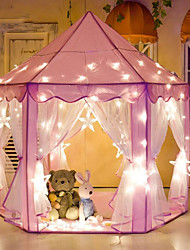 cheap -Play Tent & Tunnel Playhouse Castle Princess Glow in the Dark Star Princess Fabrics Kid's Boys' Girls' Toy Gift 1 pcs
