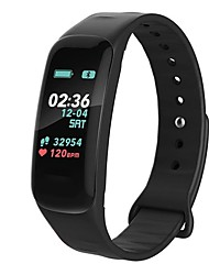 cheap -F602 Smart Wristband Bluetooth Fitness Tracker Support Notify/ Heart Rate Monitor Waterproof Sports Smartwatch Compatible Samsung/ Android/iPhone
