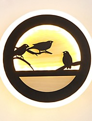 cheap -Novelty Picture Wall Lights Bedroom / Study Room / Office / Indoor Metal Wall Light 220-240V 22 W / LED Integrated