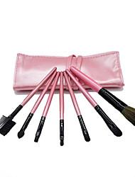 cheap -Professional Makeup Brushes 7pcs Full Coverage Plastic for Makeup Brush