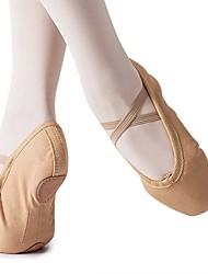 cheap -Girls' Ballet Shoes Flat Flat Heel Camel Gore