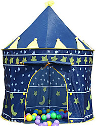 cheap -Play Tent & Tunnel Playhouse Tent Classic Theme Castle Star Foldable Convenient Simulation Exquisite Parent-Child Interaction Polyester Indoor Outdoor Spring Summer Fall 3 years+ Unisex Pop Up