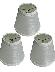 cheap -3pcs 15 cm Bulb Accessory Linen Lampshade