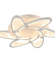 cheap -6-Heads Modern Style Simplicity Acrylic LED Ceiling Lamp Flush Mount Living Room Dining Room Light Fixture