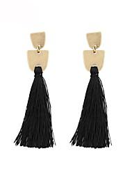 cheap -Drop Earrings Tassel Ladies Bohemian Fashion Boho Earrings Jewelry Green / Blue / Light Pink For Gift Daily