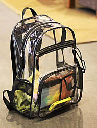 cheap -10 L Hiking Backpack Rain Waterproof Outdoor Hiking Travel School Transparent