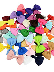 cheap -Pins Hair Accessories Grosgrain Wigs Accessories Girls' 20pcs pcs 1-4inch 4-8inch cm Party Daily Boutique Stylish Cute For Children Kids