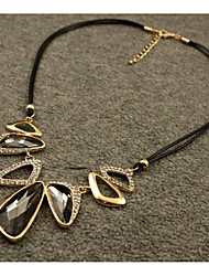 cheap -Crystal Pendant Necklace Elegant Alloy Gray 45 cm Necklace Jewelry For Wedding Evening Party
