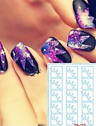 cheap -5 pcs Hollow Nail Stickers Creative nail art Manicure Pedicure Creative Trendy / Fashion Daily