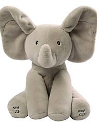 Недорогие -Baby Animated Flappy Слон Мягкие и плюшевые игрушки пение Милый Девочки Игрушки Подарок