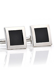 cheap -Cufflinks European Fashion Alloy Brooch Jewelry Black For Wedding Formal