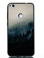 cheap -Phone Case For Huawei Back Cover Huawei P20 Huawei P20 lite P10 Lite P10 Huawei P9 Lite P8 Lite (2017) Huawei P8 Lite Pattern Scenery Soft TPU