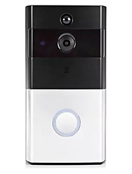 cheap -KS-110 Wireless Multifamily video doorbell No Hands-free 720Pixel One to One video doorphone