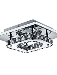 """cheap -1-Light UMEI™ 21(8"""") LED Flush Mount Lights Metal Electroplated Modern Contemporary 90-240V"""