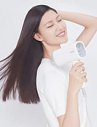 cheap -XIAOMI Practical Collapsible Hair Dryer - WHITE 1600W Double Negative Ions 2 Speed Temperature with Nozzle