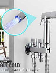 Недорогие -современный ручной душ хромированная функция - ливень, душевая лейка