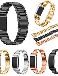 cheap -Watch Band for Fitbit Charge 2 Fitbit Sport Band Stainless Steel Wrist Strap