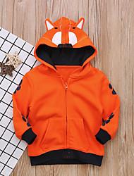 cheap -Toddler Boys' Active Daily Geometric Long Sleeve Cotton Suit & Blazer Orange
