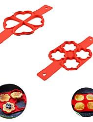 abordables -1 pc silicone pancake maker oeuf anneau fabricant antiadhésif facile fantastique oeuf omelette moule cuisine gadgets outils de cuisine