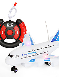 cheap -Toy Airplane Plane Classic Theme Remote Control / RC Simulation Exquisite Plastic & Metal Kid's Unisex Toy Gift 1 pcs / Parent-Child Interaction