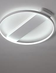 cheap -1-Light 40 cm LED Flush Mount Lights Metal Painted Finishes LED / Modern Contemporary 110-120V / 220-240V