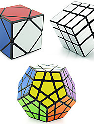 cheap -3 PCS Magic Cube IQ Cube Shengshou Pyramid Alien Megaminx 3*3*3 Smooth Speed Cube Magic Cube Stress Reliever Educational Toy Puzzle Cube Speed Professional Classic & Timeless Kid's Adults' Children's