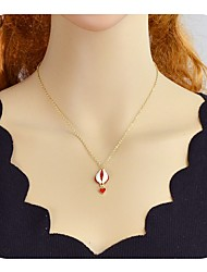 cheap -Pendant Necklace Heart Ladies Alloy Gold 48 cm Necklace Jewelry For Party / Evening School