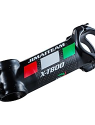 cheap -31.8 mm Bike Stem 17 degree 80/90/10/110/120 mm Carbon Fiber Lightweight High Strength Easy to Install for Cycling Bicycle 3K Glossy