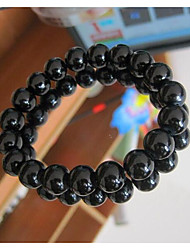 cheap -Women's Bead Bracelet Fashion Imitation Pearl Bracelet Jewelry White / Black For Gift Daily
