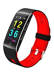 cheap -F01 Women Smartwatch Android iOS Bluetooth APP Control Calories Burned Bluetooth Touch Sensor Pedometers Pulse Tracker Pedometer Call Reminder Activity Tracker Sleep Tracker / Sedentary Reminder