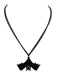 cheap -Pendant Necklace Bat Ladies Simple Alloy Black 45 cm Necklace Jewelry For Party / Evening School